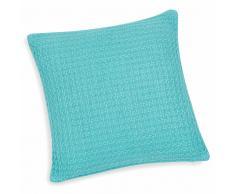 Federa per cuscino in cotone azzurro 40 x 40 cm CARLSON