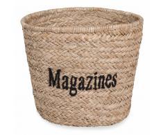 Cestino intrecciato magazines