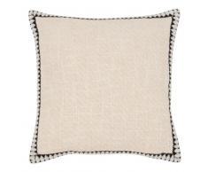 Fodera di cuscino in cotone écru, 40x40 cm
