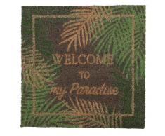 Zerbino stampa tropicale, 45x45 cm