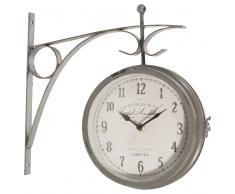 Orologio applique in metallo D 34 cm GARDEN
