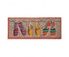Zerbino colorato a motivi espadrillas 75x30 cm BAILA PLAYA