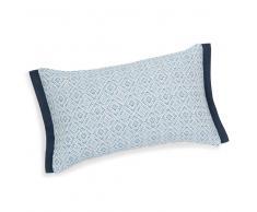 Federa per cuscino in cotone azzurra 30 x 50 m CAPRESE