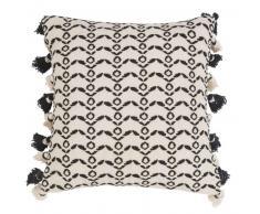 Fodera di cuscino con motivi etnici in cotone 40x40