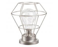 Lampadina a LED con supporto in fili di metallo dorati