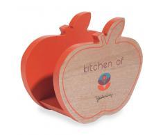 Portatovaglioli mela in legno VINTAGE ADDICT