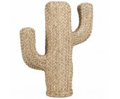 Statua cactus in fibra vegetale, h 55 cm