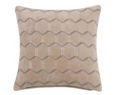 Fodera di cuscino in cotone motivi grafici, 40x40 cm
