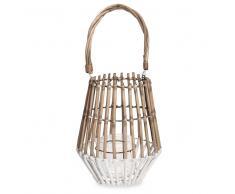 Lanterna in bambù bicolore ESCALE