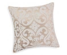 Federa di cuscino grigia in velluto 40 x 40 cm AGATHE