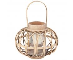 Lanterna in bambù, h 18 cm