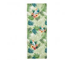 Tela da sdraio con stampa tropicale, 44x124 cm