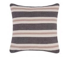 Fodera di cuscino in cotone tricolore, 40x40 cm