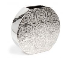 Vaso mandorla Etnico argento