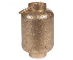 Lanterna in metallo H 26 cm GOLD NECOSIA