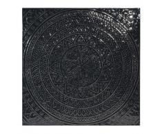 Decorazione da parete in metallo nero 70x70 cm ZAHORA