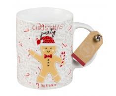 Mug in porcellana con stampa pan speziato