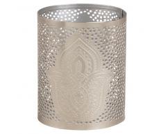 Candeliere in metallo perforato