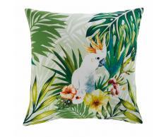 Cuscino da giardino in tessuto stampato tropicale 45x45 CACATOES