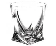 Bicchiere in vetro QUADRO