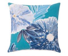 Fodera di cuscino in cotone stampa floreale, 40x40 cm
