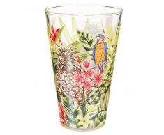 Bicchiere alto in vetro JUNGLE
