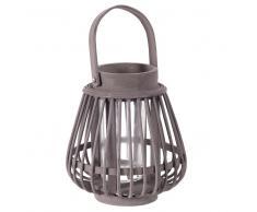 Fotofora lanterna grigia in bambù