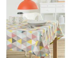 Tovaglia multicolore in cotone 150 x 250 cm LUCIA