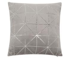 Cuscino morbido grigio 40 x 40 cm DOWNTOWN