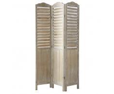 Paravento in legno L 106 cm Eloise