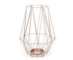 Lanterna in metallo ramato H 27 cm MALMO COPPER