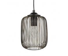 Lampada a sospensione nera con fili in metallo D 17 cm PHAEYO