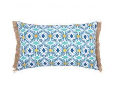 Fodera di cuscino in cotone motivi grafici, 30x50 cm