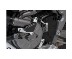 Protezione pompa SW-Motech Acqua - Argento/nero. Modelli Ducati., nero