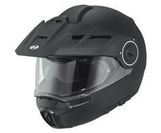 Held H-E1 Stuoia di moto casco nero Nero M