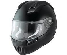 Held H-SR2 Stuoia di moto casco nero Nero M