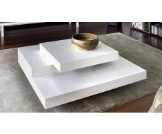 SLATE TEMAHOME Tavolino design bianca opaco