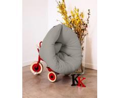 NEST poltrona per bambini design grigio futon letto 75*150*10cm
