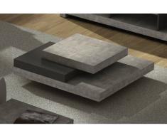 SLATE TEMAHOME Tavolino aspetto cemento