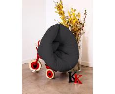 NEST poltrona per bambini design grafite futon letto 75*150*10cm