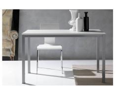 KERWIIN Tavolo da pranzo design 140 cm bianca
