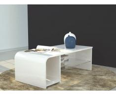 S-TIME Tavolino o mobile TV design bianco