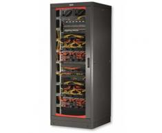 "Armadio Rack 19"" 600x800 33 Unita' Nero Intellinet I-CASE EP-3380BKT"