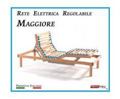 Rete Elettrica Regolabile Maggiore a Doghe di Legno da Cm. 80x190 Prodotto Italiano