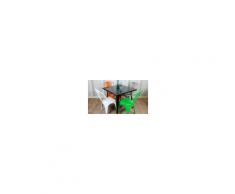 TOLIX - Tavolo 60x60,70x70 e 80x80cm in metallo casa, bar, ristorante, catering
