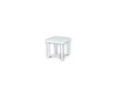 RODI - Tavolo contract quadrato 80x80cm in ecoresina per giardino, casa, bar, ristorante, pizzeria Grand Soleil