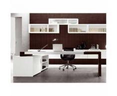 Scrivania contract ufficio negozio studio hotel albergo direzionale legno MATRIX