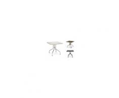 OLIMPO SPED.GRATUITA - Tavolo 80x80cm contract piano ribaltabile polipropilene bar pizzeria Scab Design