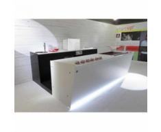 BANCO BANCONE BAR START UP L 3500 - [h] 3500/SX H1150, White (Bianco)