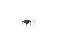 DSW Eiffel H 106 Eames - Sgabello Polipropilene, gambe in legno